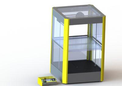 infografía impresora 3d industrial tecnologyk